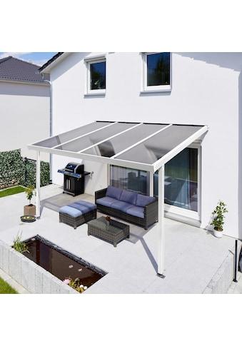 GUTTA Terrassendach »Premium«, BxT: 410x306 cm, Dach Polycarbonat bronce kaufen