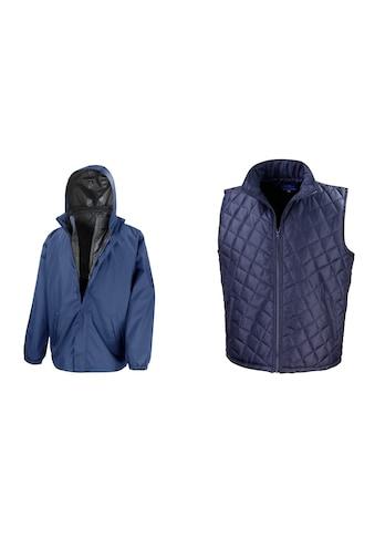 Result 3-in-1-Funktionsjacke »Core Herren 3-in-1 Jacke mit herausnehmbarer Steppweste« kaufen