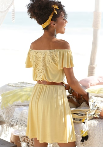 Buffalo Sommerkleid, mit Häkelspitze hinten kaufen