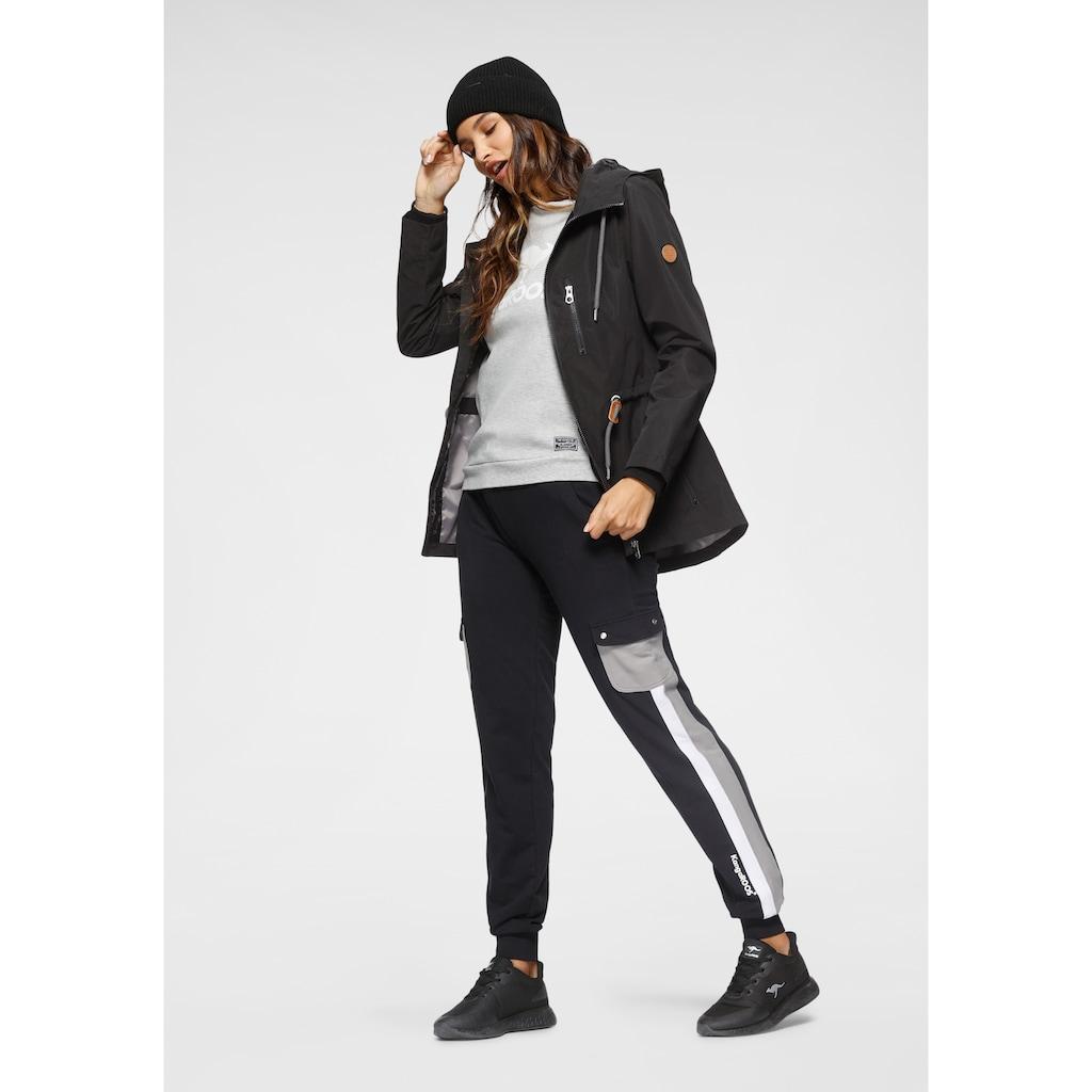 KangaROOS Jogger Pants, mit angesagten Pattentaschen am Bein