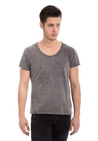 Way of Glory T-Shirt, Round neck im helle Waschung kaufen