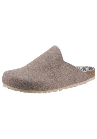 CITY WALK Pantoffel, bequem zum Schlupfen, in Komfortweite G (=weit) kaufen