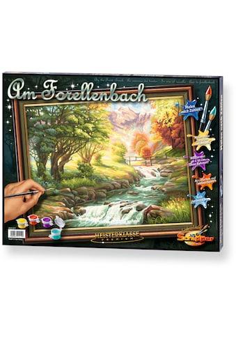 Schipper Malen nach Zahlen »Meisterklasse Premium Forellenbach«, Made in Germany kaufen