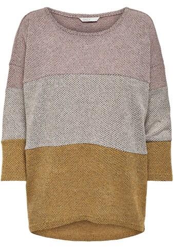 Only 3/4 Arm-Pullover »ONLALBA«, mit Struktur kaufen