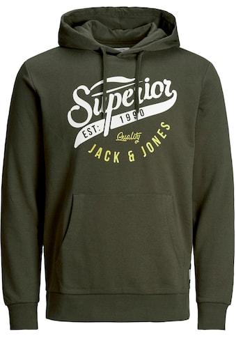 Jack & Jones Kapuzensweatshirt »LOGO HOOD« kaufen