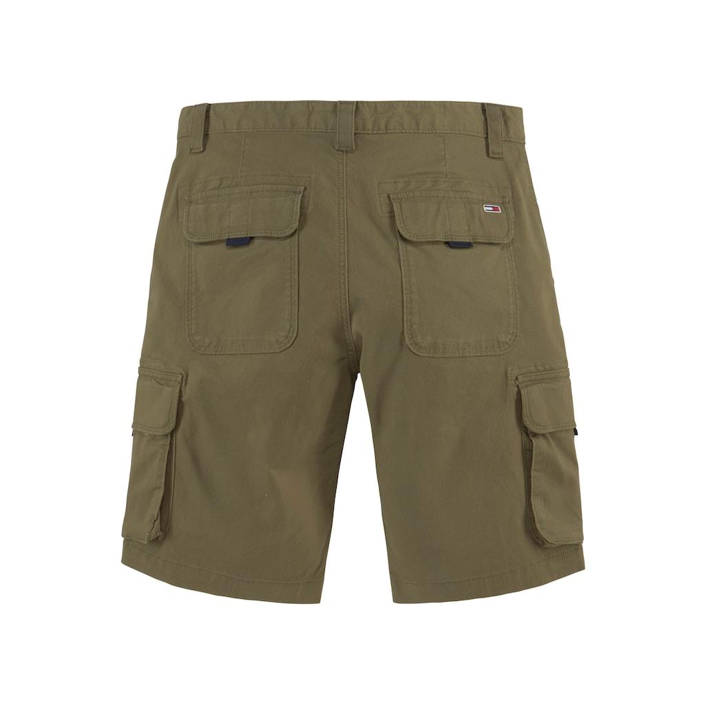 Tommy Jeans Cargoshorts »TJM WASHED CARGO SHORT«