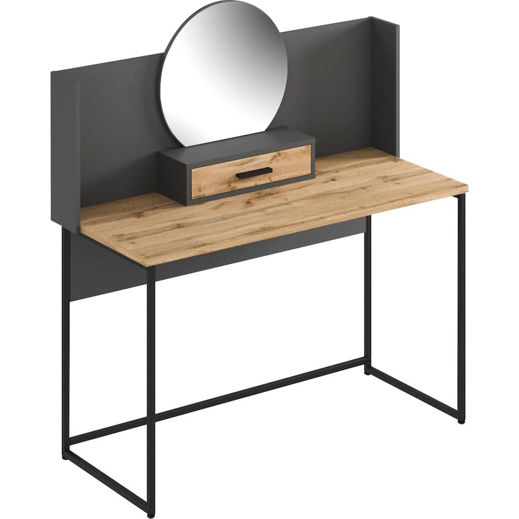 andas Schminktisch »Calipso«, mit Spiegel, Breite 123 cm