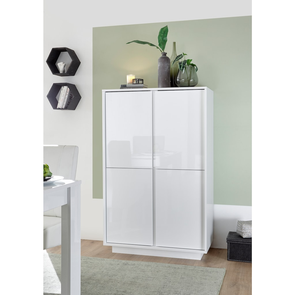 LC Highboard »Ice«, grifflos