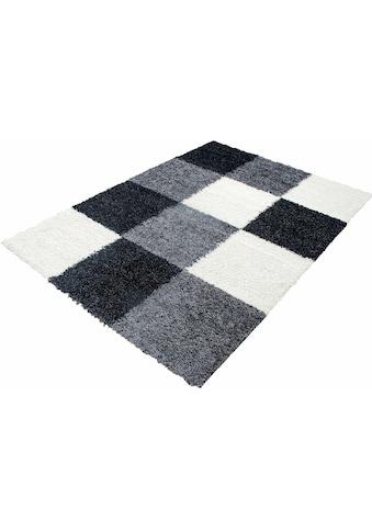 Hochflor - Teppich, »Life Shaggy 1501«, Ayyildiz, rechteckig, Höhe 30 mm, maschinell gewebt kaufen