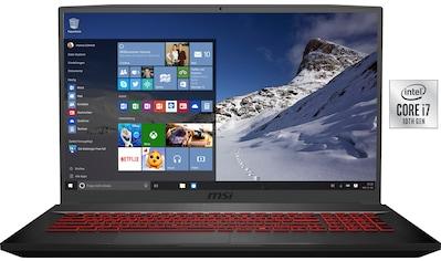 MSI GF75 10SDR - 420 Thin Gaming - Notebook (43,9 cm / 17,3 Zoll, Intel,Core i7, 1000 GB HDD, 256 GB SSD) kaufen