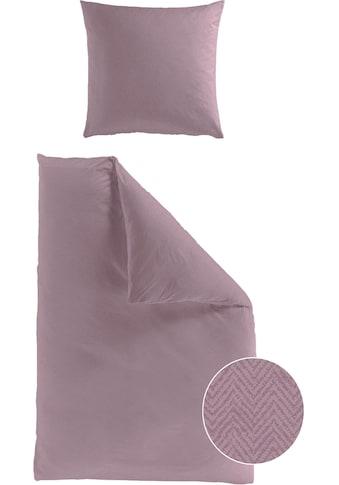 BIERBAUM Bettwäsche »Senci«, mit Muster kaufen