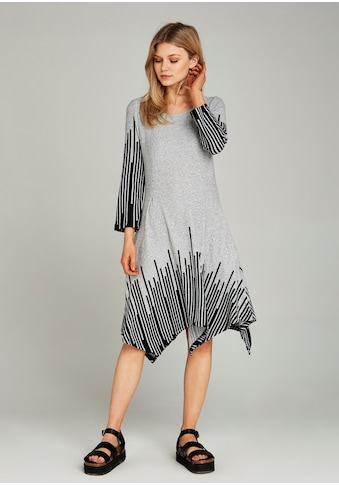 Apricot Strickkleid »Abstract Stripe Hanky Hem Dress«, mit asymmetrischem Saum kaufen
