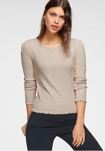 HaILY'S Langarmshirt, aus Rippware kaufen