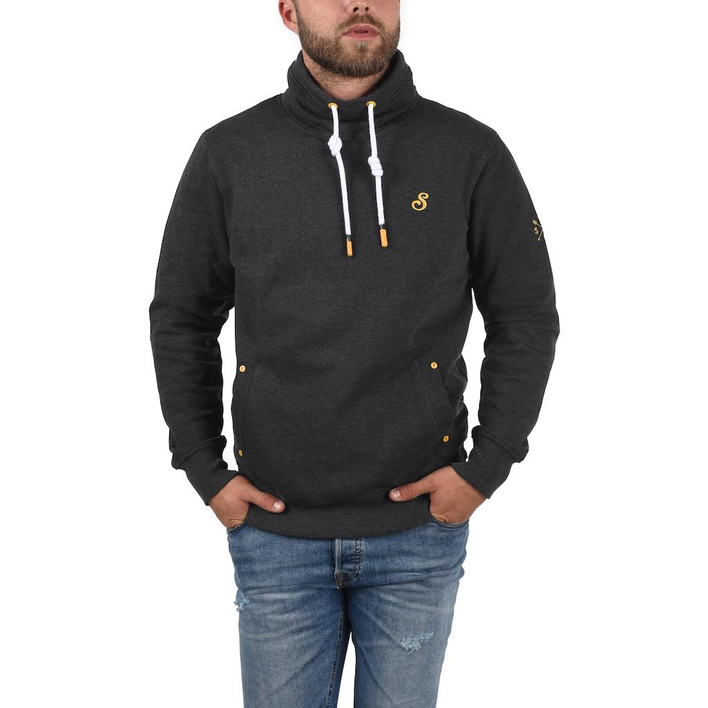 Solid Sweatshirt »Kaan«, Kapuzenpullover mit kontrastreichen farblichen Details