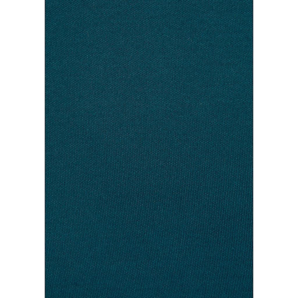 KangaROOS Hoodie, mit Lochmuster über den Brustbereich