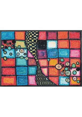 wash+dry by Kleen-Tex Fußmatte »Tiger Tundra«, rechteckig, 7 mm Höhe, Fussabstreifer,... kaufen