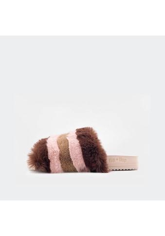 Flip Flop Pantolette »POOL*LUSH«, mit bunten Streifen kaufen