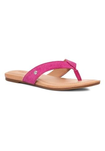 UGG Zehentrenner »Tuolumne«, mit gepolstertem Fußbett kaufen