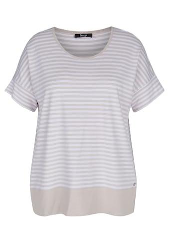 FRAPP T-Shirt, mit geringeltem Allover-Muster kaufen
