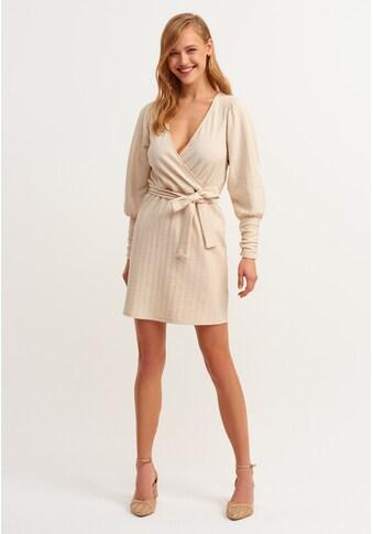OXXO Vokuhila-Kleid, mit Bindegürtel kaufen