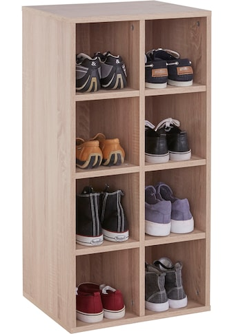 INOSIGN Schuhregal »Fricka«, mit einer schönen Holzfolien Optik, Stauraum für ca. 16... kaufen