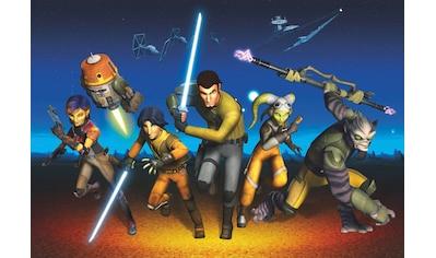 Komar Fototapete »Star Wars Rebels Run«, bedruckt-Comic, ausgezeichnet lichtbeständig kaufen
