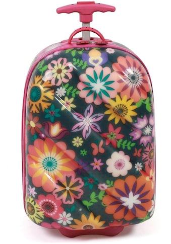 CHIC2000 Kinderkoffer »Bouncie Flowers«, 2 Rollen kaufen