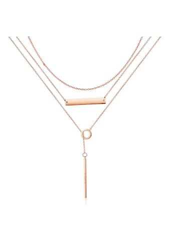 AILORIA Kette mit Anhänger »ARIELLE Halskette Roségold« kaufen