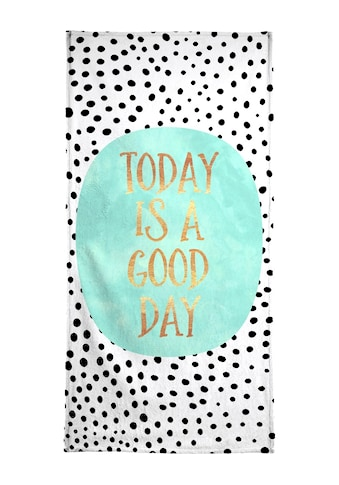 """Strandtuch """"Today Is a Good Day"""", Juniqe kaufen"""