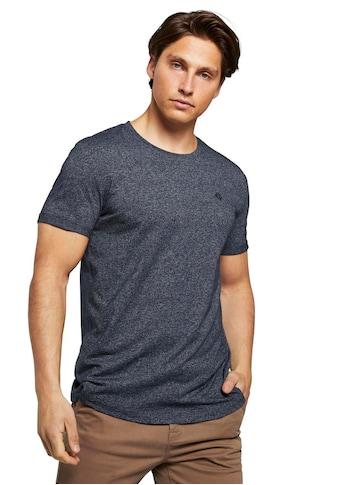 TOM TAILOR Denim T-Shirt, mit Strukturmuster kaufen