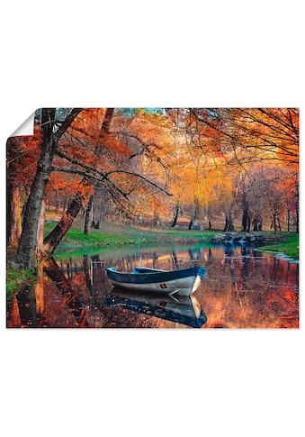 Artland Wandbild »Bunte Herbstlandschaft« kaufen
