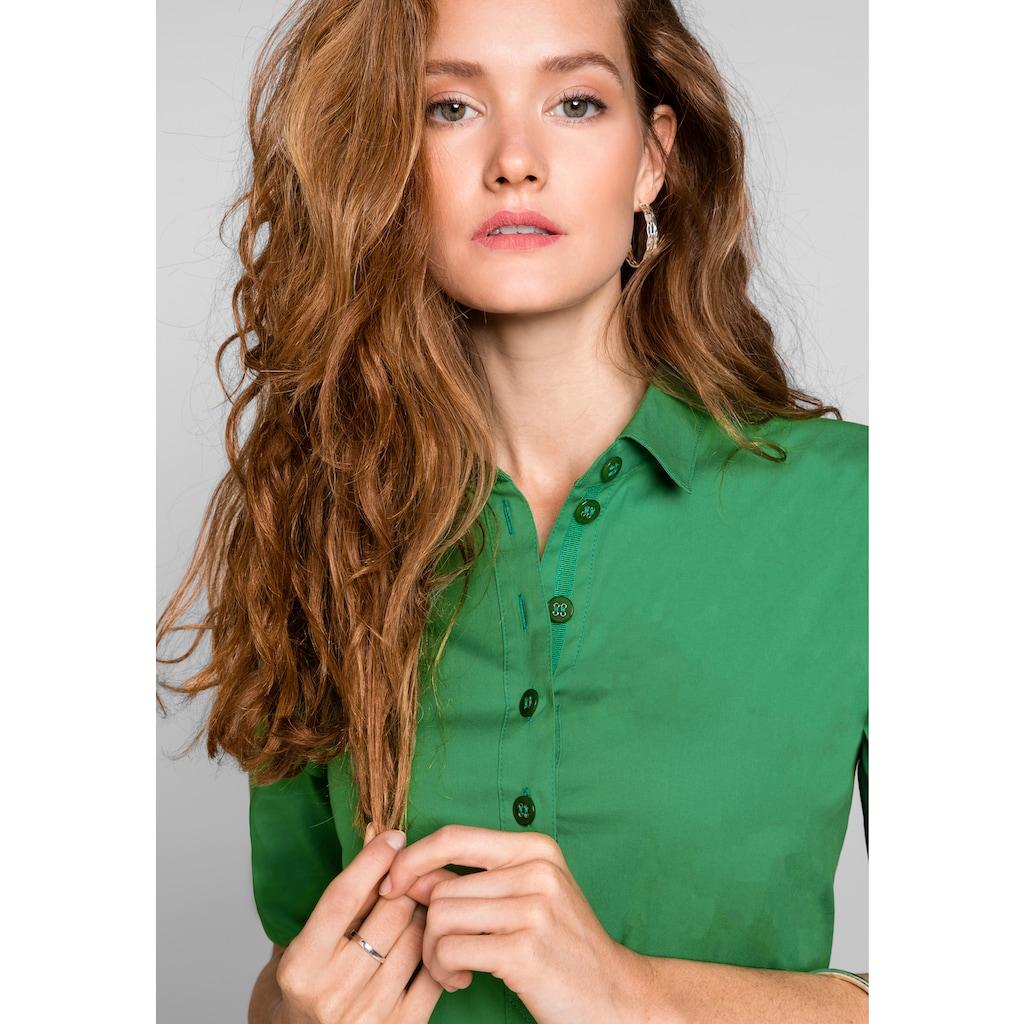 bianca Hemdblusenkleid »ANINA«, in der aktuellen Trendfarbe mit cooler Knopfleiste