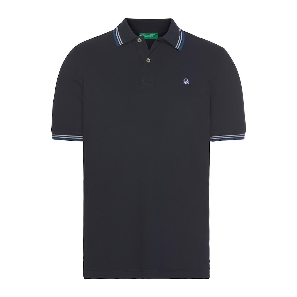 United Colors of Benetton Poloshirt, mit kleiner Logostickerei