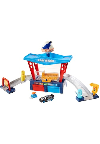 Mattel® Spiel-Gebäude »Disney Pixar Cars, Farbwechsel Dinoco Autowaschanlage«, inkl. Fahrzeug mit Farbwechseleffekt kaufen