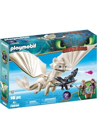 Playmobil® Konstruktions-Spielset »Light Fury Spielset (70038), Dragons«, (16 St.),... kaufen