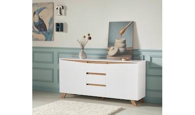 Homexperts Sideboard »Vicky«, Breite 160 cm oder 180 cm, in matt weiß kaufen