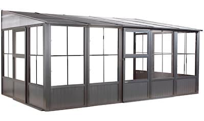 Sojag Anbaupavillon »Mural 10x16 anthrazit«, BxTxH: 502x309x244 cm kaufen
