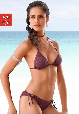 Buffalo Triangel-Bikini, mit modischer Struktur kaufen