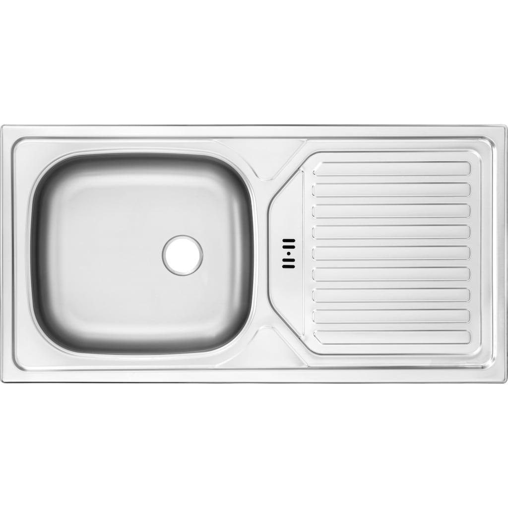 OPTIFIT Küchenzeile »Leer«, 300 cm breit, inkl. Elektrogeräte der Marke HANSEATIC