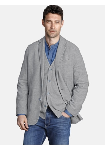 Jan Vanderstorm Jerseysakko »HELLFRIED«, mit verstecktem Einstecktuch kaufen