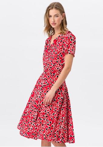 Uta Raasch Sommerkleid »mit V-Ausschnitt«, mit Gürtel kaufen