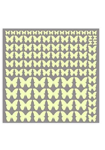 Wall-Art Wandtattoo »Leuchtsticker Schmetterlinge« kaufen