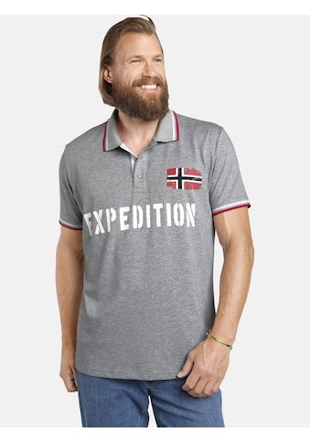 Jan Vanderstorm Poloshirt »JOHAN«, in zwei modischen Designs kaufen