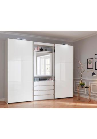 Fresh To Go Schwebetürenschrank »Magic«, mit drehbarer Spiegeltür kaufen