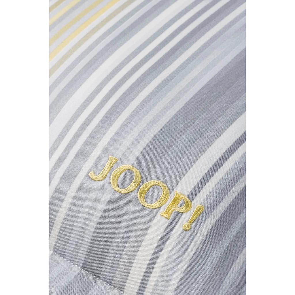 Joop! Bettwäsche »PINSTRIPE«, Mit elegantem Nadelstreifen-Design