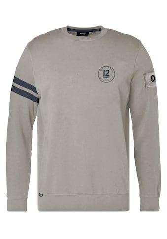 CODE-ZERO Sweater »12M Seaworthy Sweater«, mit Stickerei kaufen