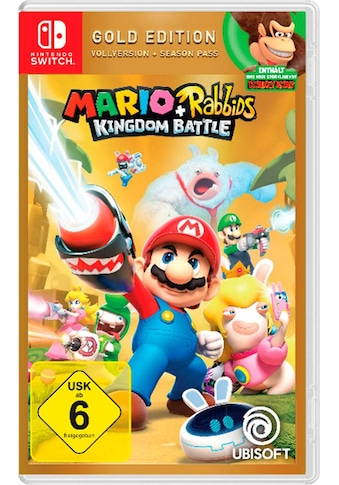 UBISOFT Spiel »Mario & Rabbids Kingdom Battle Gold Edition«, Nintendo Switch kaufen