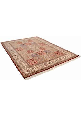 THEKO Orientteppich »Baktyari N«, rechteckig, 12 mm Höhe, Flor aus 30% Seide,... kaufen