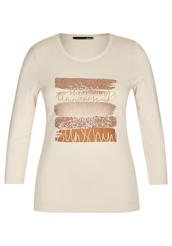 LeComte Paillettenshirt, mit Front-Print und Statement kaufen
