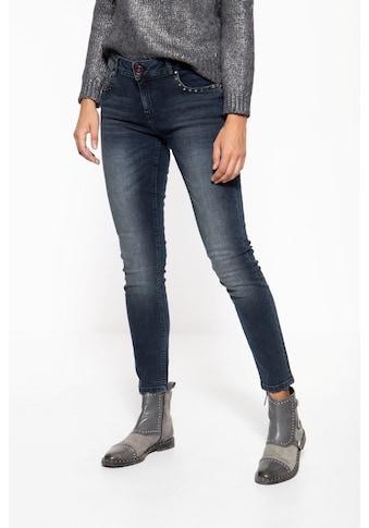 ATT Jeans 5-Pocket-Jeans »Leoni«, im 5-Pocket Design mit Nieten kaufen